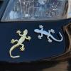 Carsticker - Gecko, Chrom