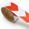 Refleks Type 4 Rød/Hvid Pile 5 cm