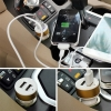 Dual USB oplader 5V 2.1 A 1.0 A